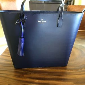 Kate Spade Tote - Karla Wright Place - Blue